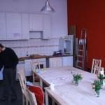Küche im Bau